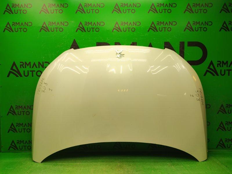 Капот Peugeot 308 2 2013 (б/у)