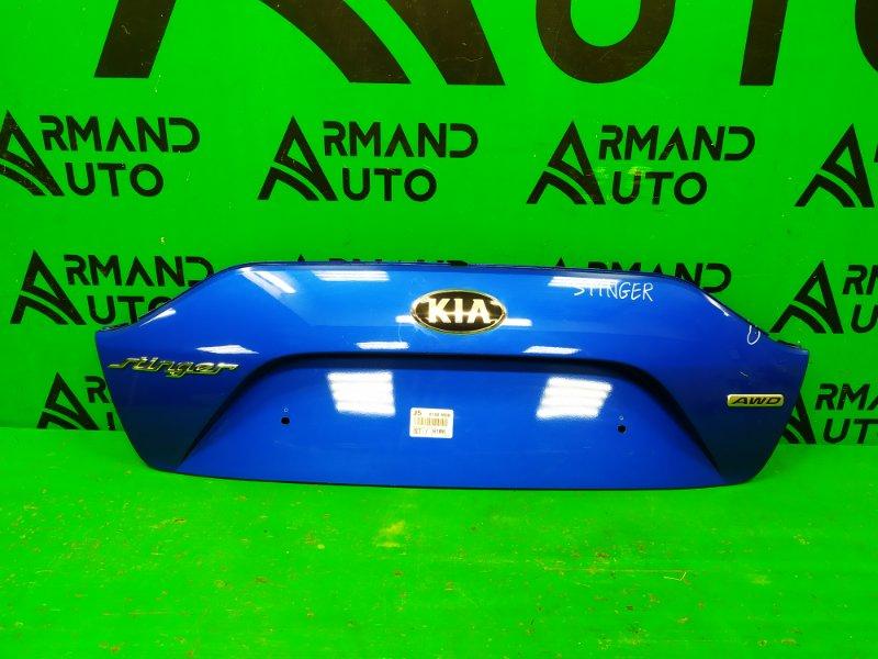 Накладка двери багажника Kia Stinger 2017 (б/у)