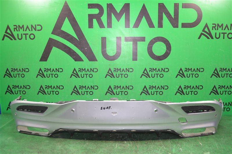 Юбка бампера amg Mercedes Gle Coupe C292 2015 задняя (б/у)