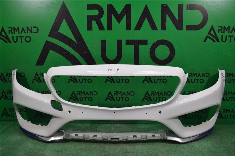Бампер amg Mercedes С W205 2014 передний (б/у)
