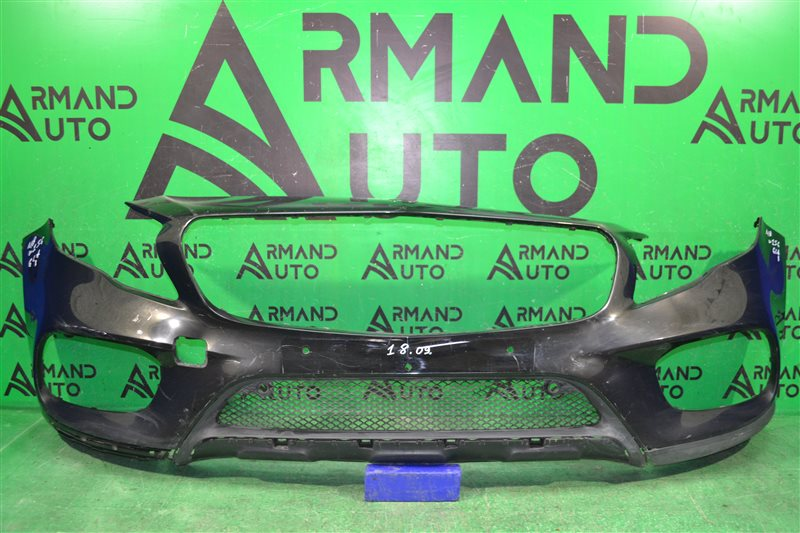 Бампер amg Mercedes Gla X156 2010 передний (б/у)