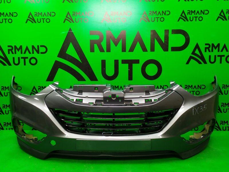 Бампер Hyundai Ix35 2010 передний (б/у)