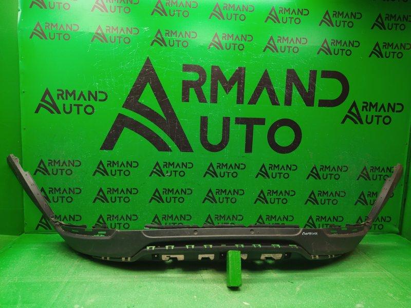 Юбка бампера Chevrolet Captiva C140 РЕСТАЙЛИНГ 2012 передняя (б/у)