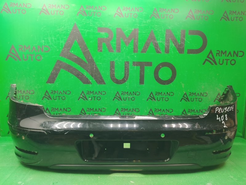 Бампер Peugeot 408 2012 задний (б/у)