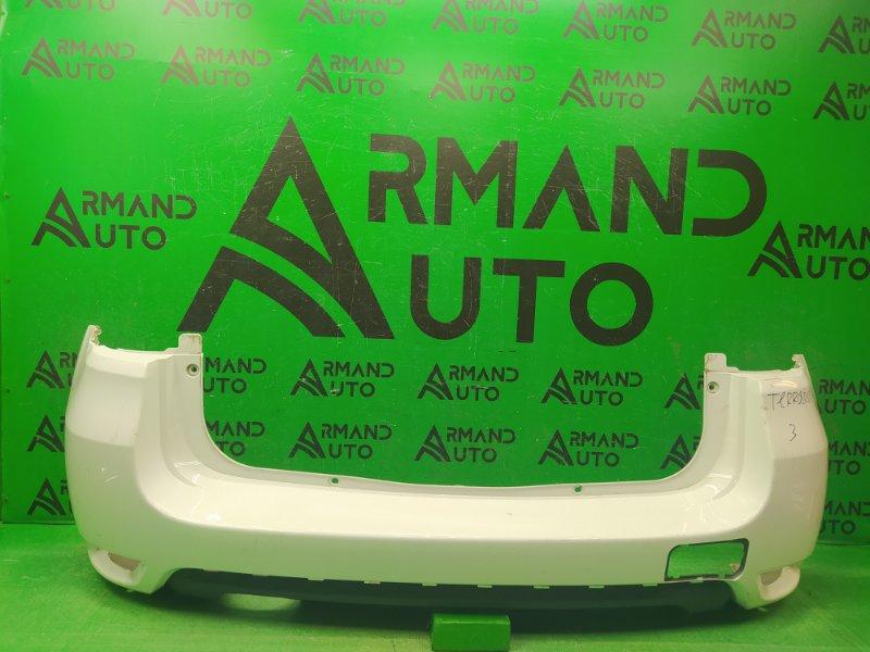 Бампер Nissan Terrano 3 2014 задний (б/у)
