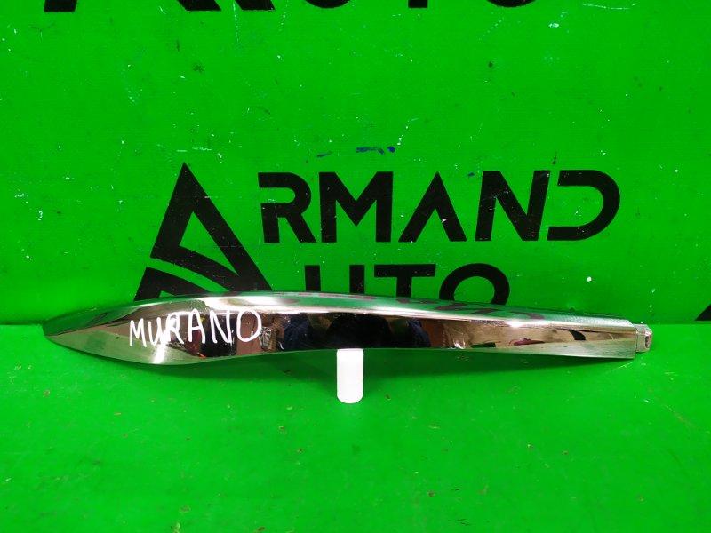 Накладка бампера Nissan Murano Z52 2014 задняя левая (б/у)