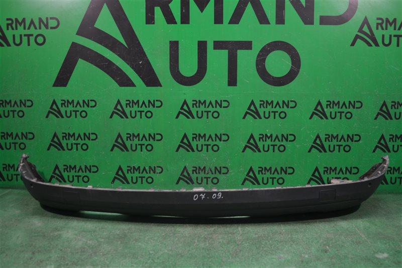 Юбка бампера Audi Q3 8U 2011 задняя (б/у)