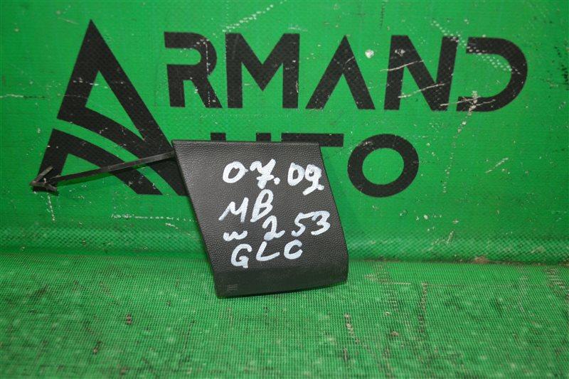 Заглушка бампера amg Mercedes Glc X253 2015 передняя (б/у)