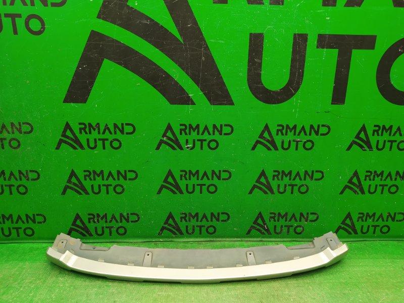 Накладка бампера Chevrolet Orlando 2010 передняя нижняя (б/у)