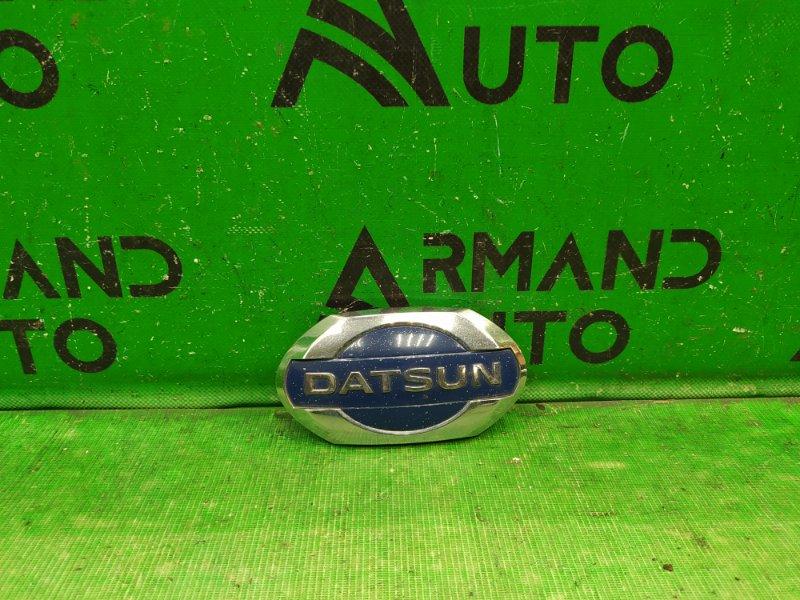 Эмблема Datsun On-Do 2014 (б/у)