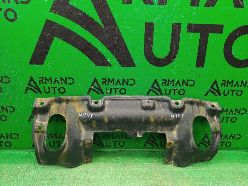 Защита двигателя Toyota Hilux 7 РЕСТАЙЛИНГ 2011 (б/у)
