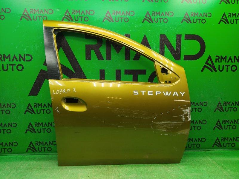 Дверь Renault Sandero Stepway 2 2014 передняя правая (б/у)
