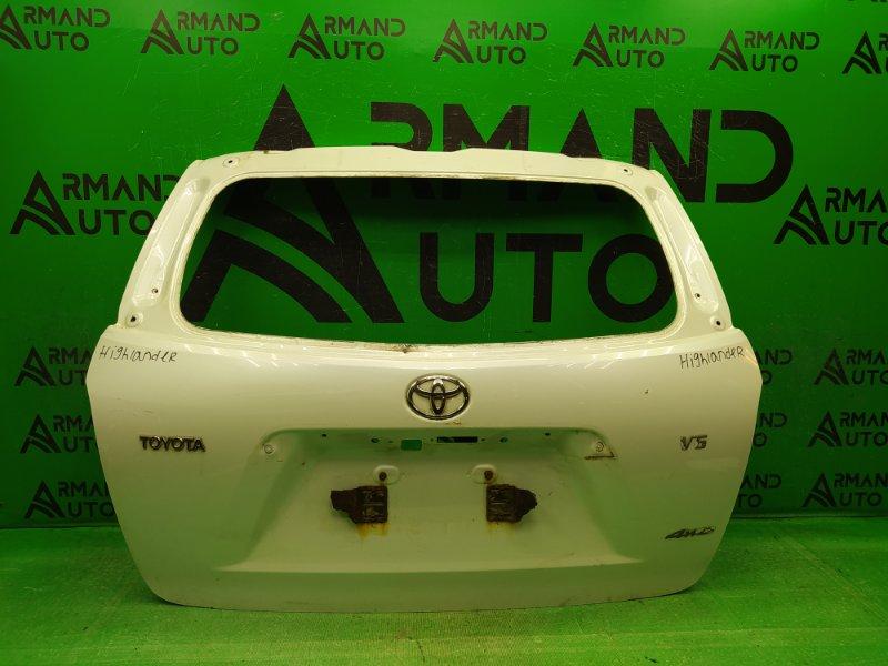 Дверь багажника Toyota Highlander 2 2007 (б/у)