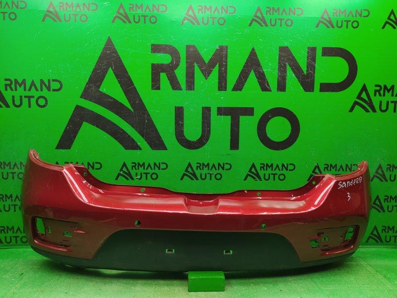 Бампер Renault Sandero Stepway 2 2014 задний (б/у)