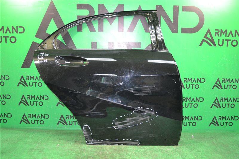Дверь Mercedes А W176 2012 задняя правая (б/у)