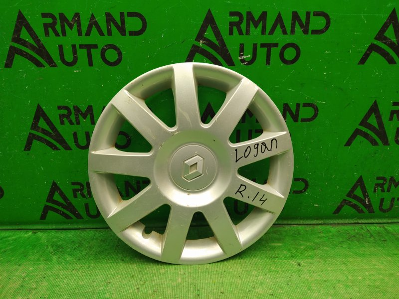 Колпак колесный r14 Renault Logan РЕСТАЙЛИНГ 2009 (б/у)