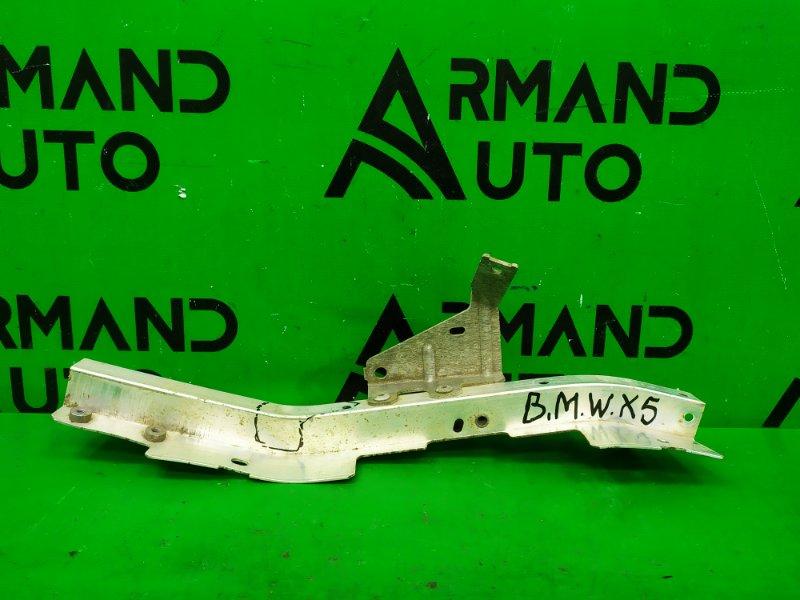 Кронштейн фары Bmw X5 F15 2013 левый (б/у)