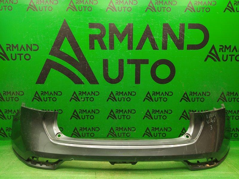 Бампер Volvo V40 Cross Country 2012 задний (б/у)