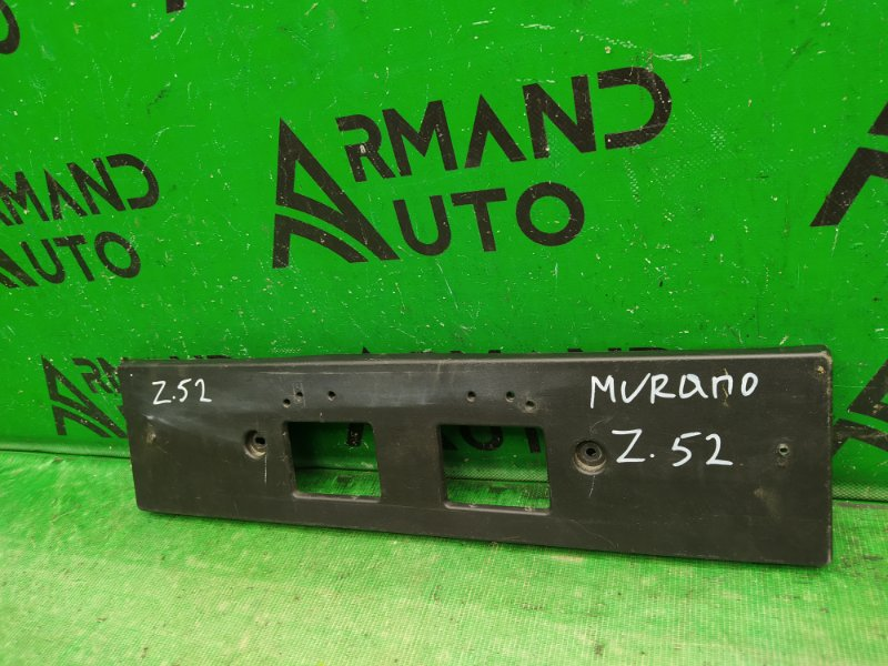 Площадка номерного знака Nissan Murano Z52 2014 (б/у)