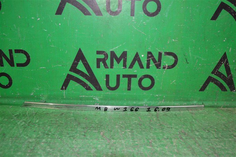 Накладка решетки радиатора Mercedes Ml W166 X166 2011 (б/у)
