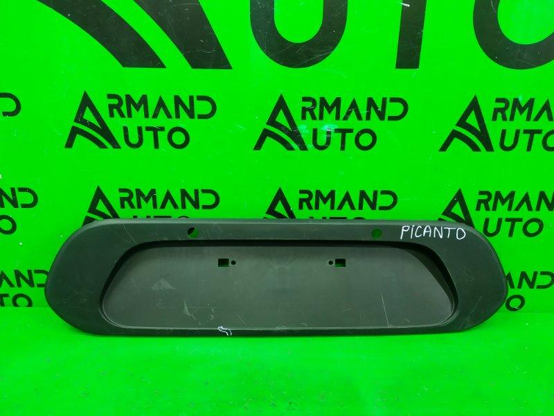 Накладка бампера Kia Picanto 3 2017 задняя (б/у)