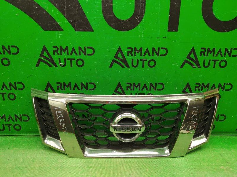 Решетка радиатора Nissan Terrano 3 2014 (б/у)
