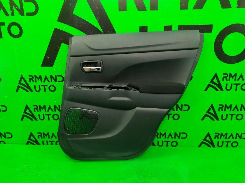 Обшивка двери Mitsubishi Asx 1 2010 задняя правая (б/у)