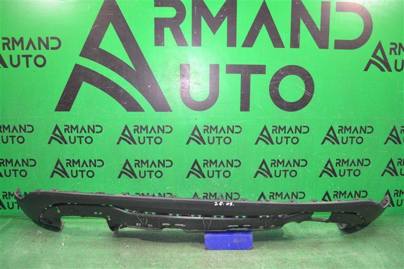 Юбка бампера Mercedes Gla X156 2013 задняя (б/у)