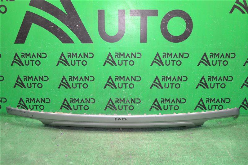 Юбка бампера Audi Q7 4M 2015 задняя (б/у)