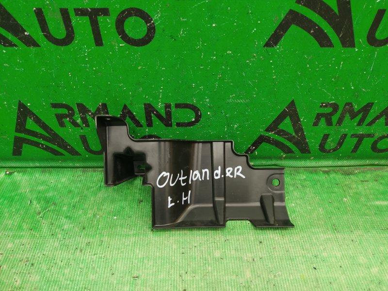 Дефлектор радиатора Mitsubishi Outlander 3 2012 левый верхний (б/у)