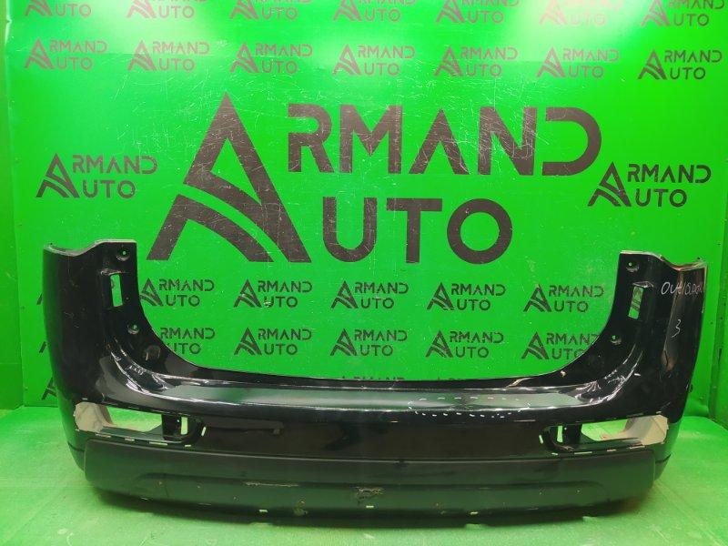 Бампер Mitsubishi Outlander 3 2014 задний (б/у)