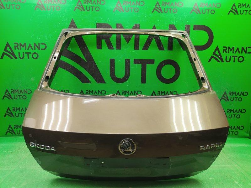 Дверь багажника Skoda Rapid 2012 (б/у)