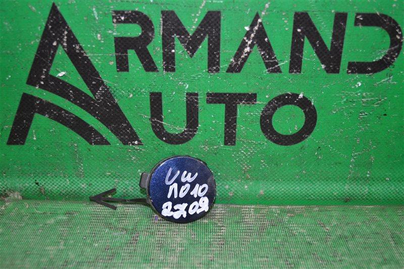 Заглушка буксировочного крюка Volkswagen Polo 5 SEDAN 2015 передняя (б/у)