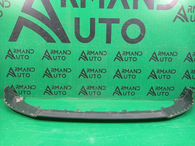 Юбка бампера Audi Q3 8U 2014 передняя (б/у)
