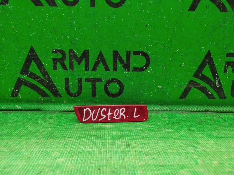Катафот Renault Duster 1 2010 левый (б/у)