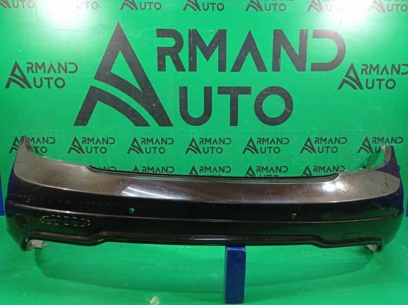 Бампер amg Mercedes C W204 2011 задний (б/у)