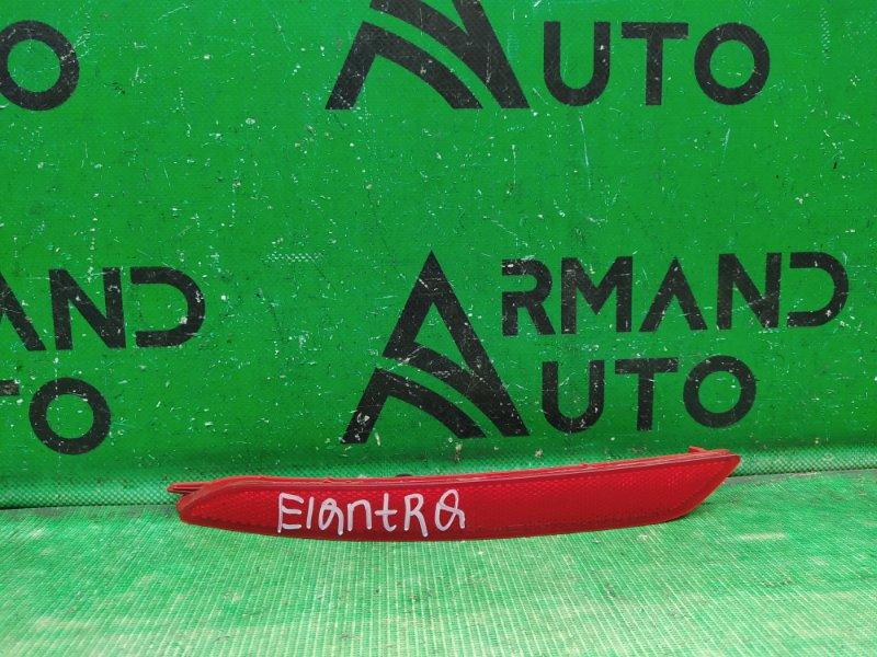 Катафот Hyundai Elantra 5 2010 левый (б/у)