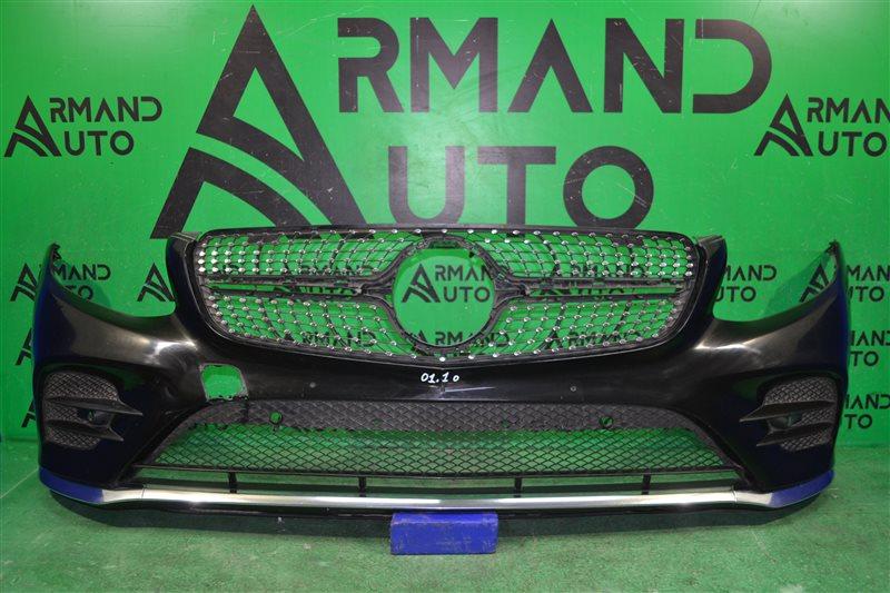 Бампер amg Mercedes Glc X253 2015 передний (б/у)