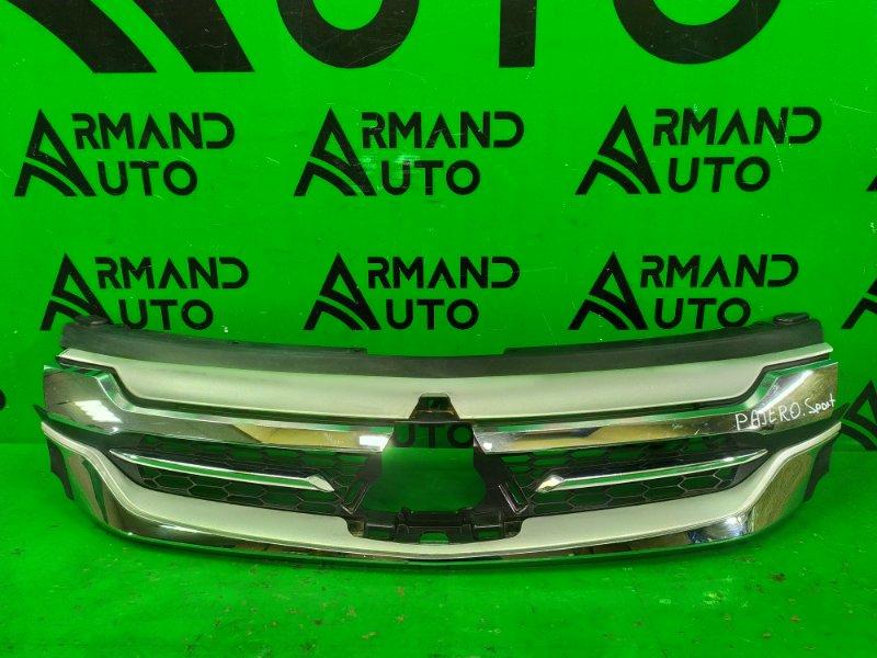 Решетка радиатора Mitsubishi Pajero Sport 3 2015 (б/у)