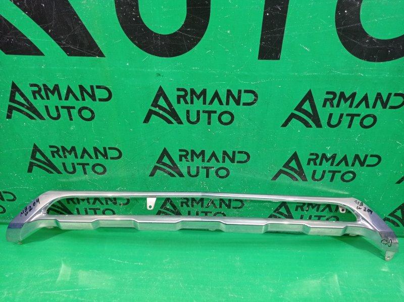Накладка бампера Mercedes Glk X204 2012 передняя (б/у)