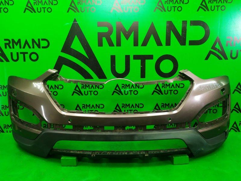 Бампер Hyundai Santa Fe 3 2012 передний (б/у)