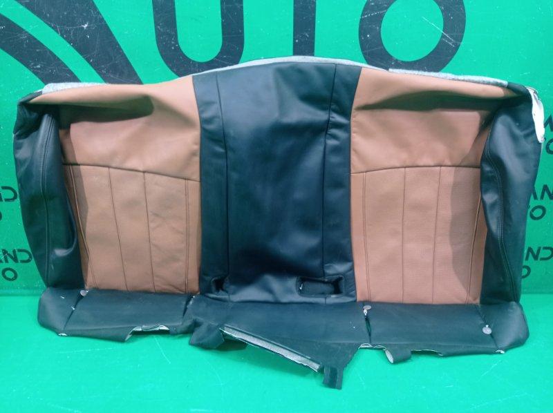 Обшивка сиденья Bmw X6 F16 2014 задняя (б/у)