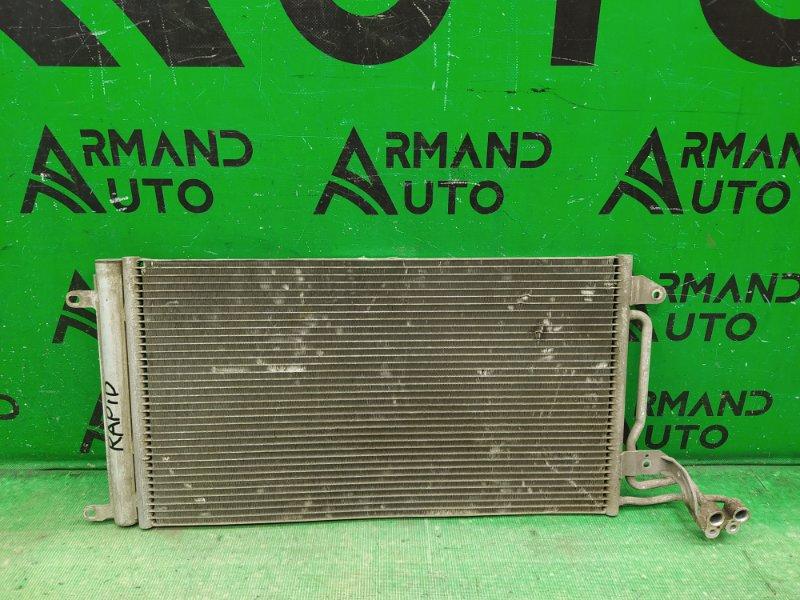 Радиатор кондиционера Skoda Rapid 2012 (б/у)