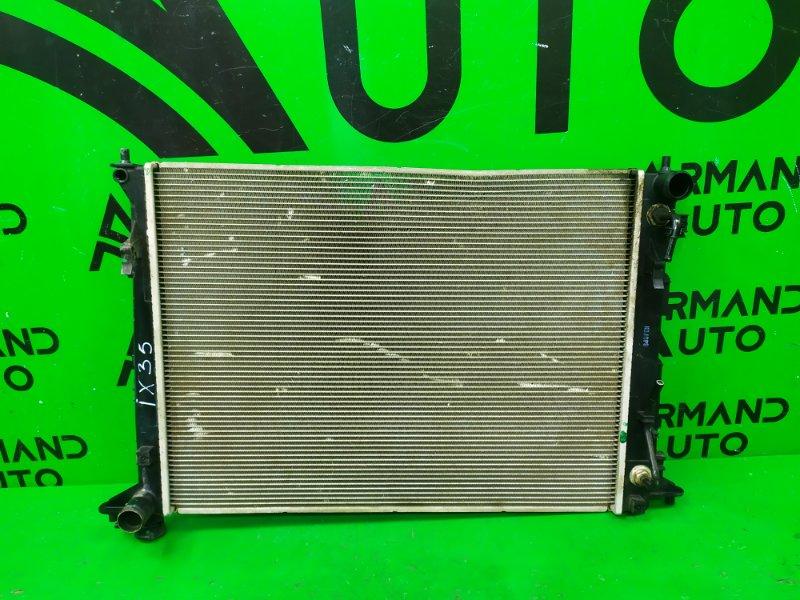 Радиатор охлаждения Hyundai Ix35 2010 (б/у)
