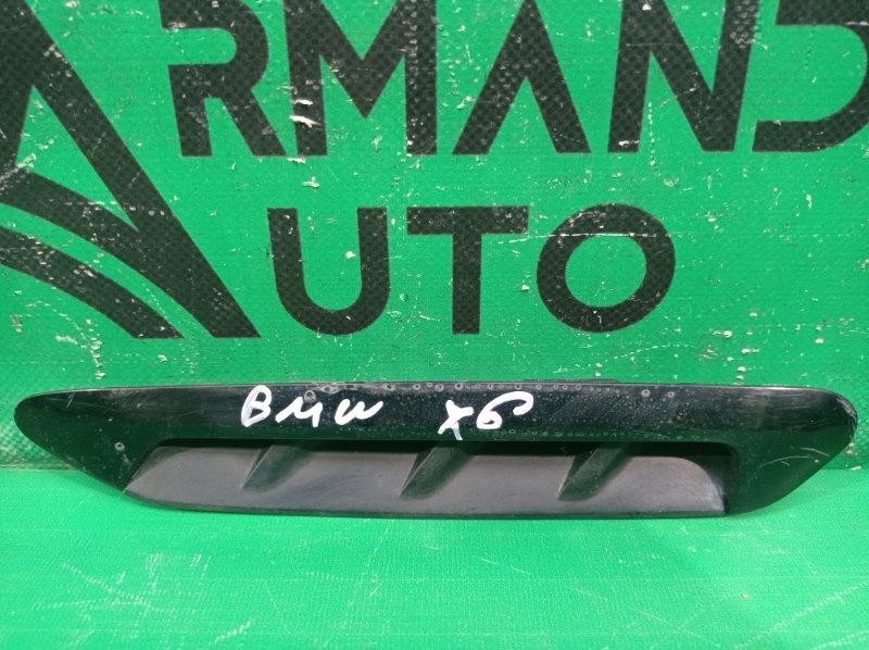 Накладка крыла Bmw X3 G01 2017 передняя левая (б/у)