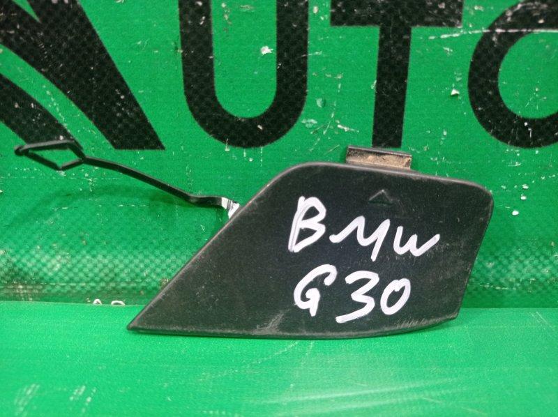 Заглушка буксировочного крюка m-paket Bmw 5 G30 2016 задняя (б/у)