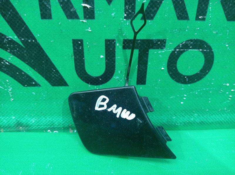Заглушка буксировочного крюка Bmw X1 E84 2009 передняя (б/у)