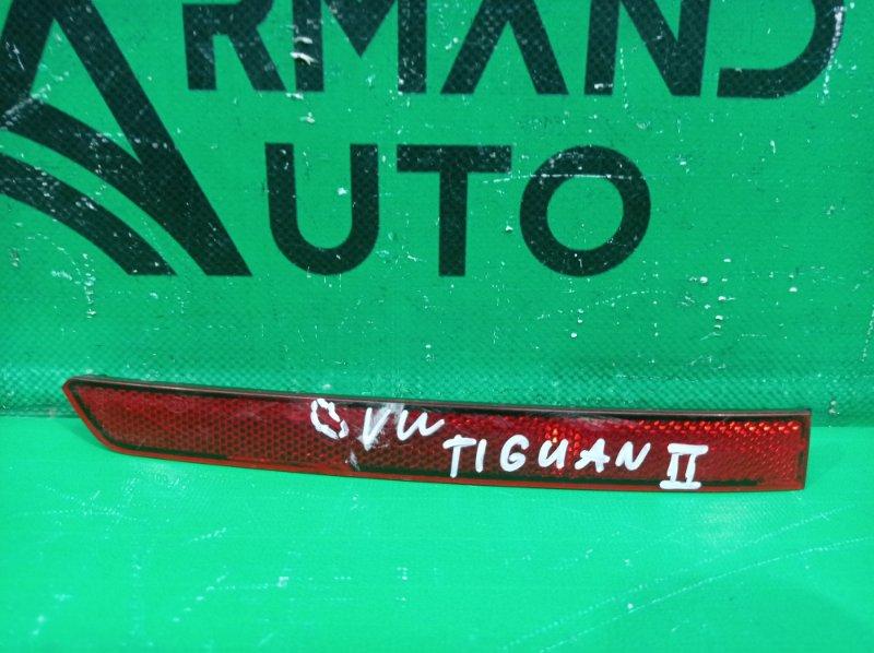 Катафот бампера Volkswagen Tiguan 2 2016 задний левый (б/у)