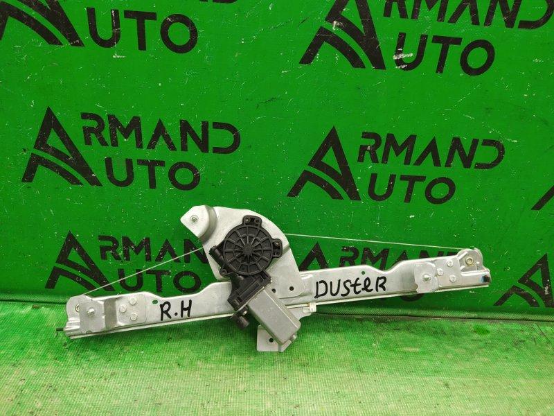 Стеклоподъемник Renault Duster 2010 передний правый (б/у)