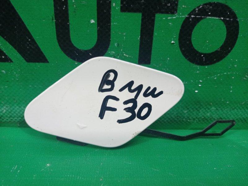 Заглушка бампера Bmw 3 F30 2015 задняя (б/у)